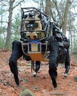 Испытания робота LS3 AlphaDog