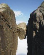 Камень-горошина на плато Кьёраг