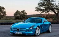 Mercedes SLS AMG - самый мощный электромобиль