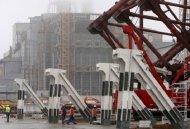Новый саркофаг над Чернобыльской АЭС