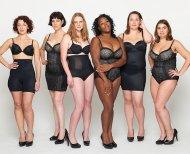 Обычные женщины в рекламе нижнего белья