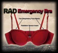 RAD Emergency Bra - Бюстгалтер-респиратор